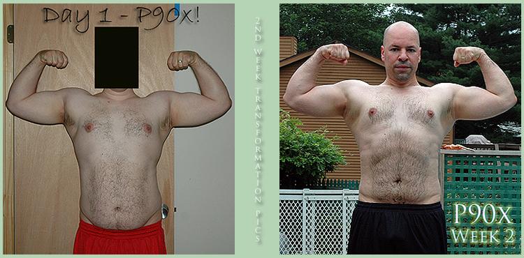 P90x - 2nd Week Transformation Pic - Bodybuilding com Forums