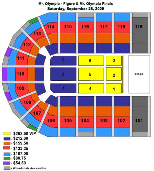 mr olympia seating chart: Mr olympia seating chart 2015 npc west coast riverside contest