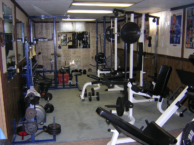 Home gym  Pic's and discussion of your