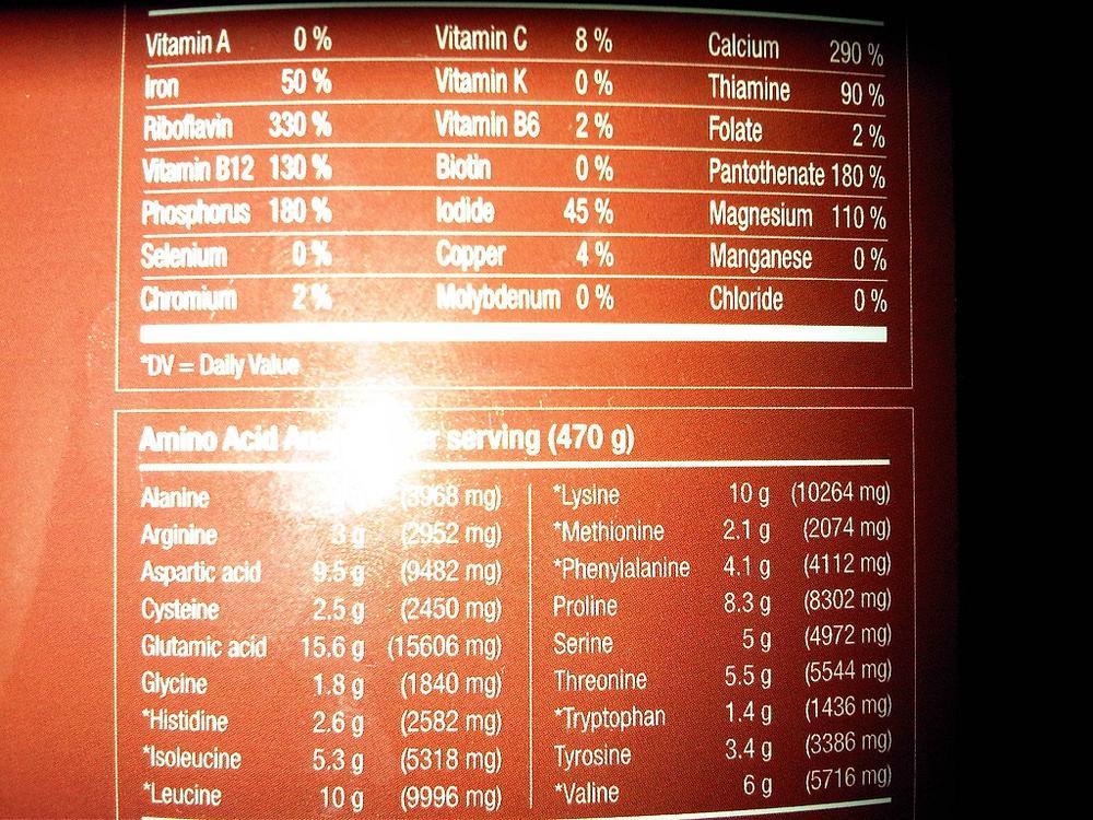 Vitol Russian Bear 5000 Vanilla 4 Lb Evitamins Ireland The Complete Power Look Program