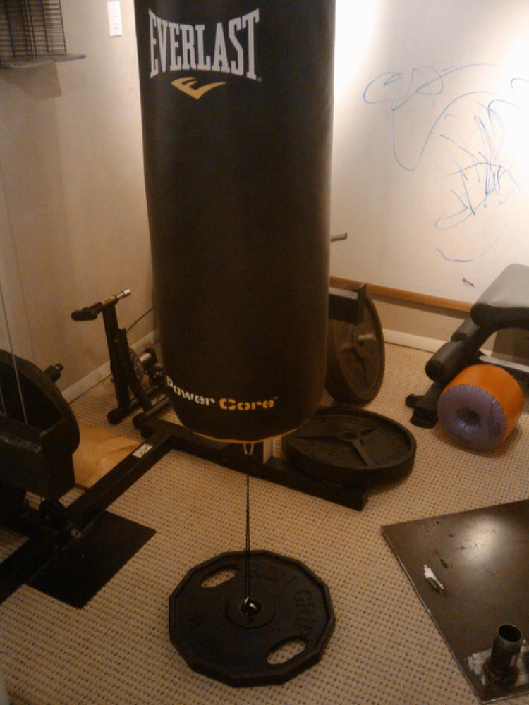Hanging A Punching Bag In A Power Rack Bodybuilding Com