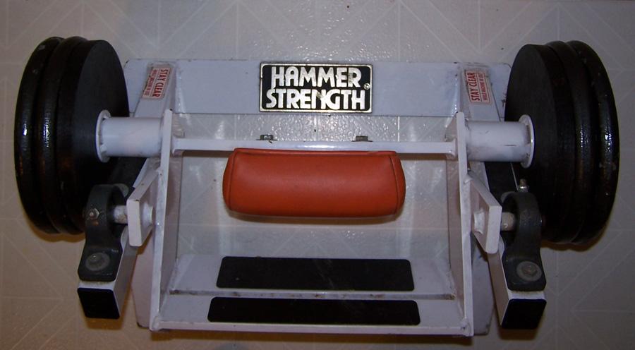 shin exercise machine