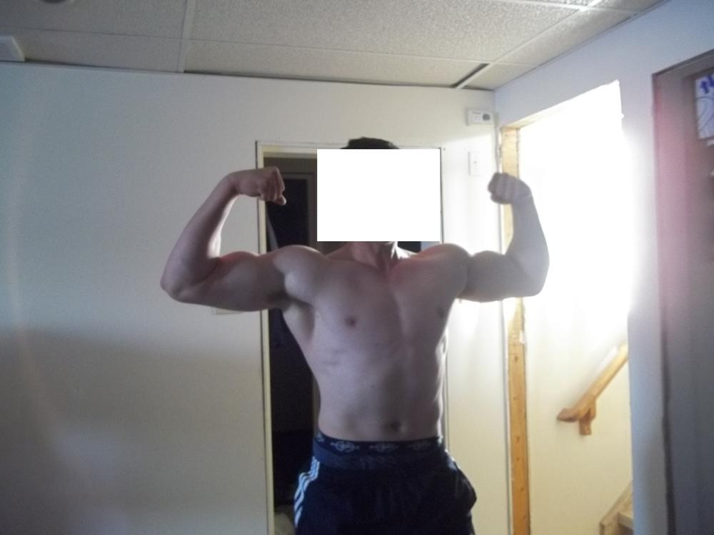 how to add mass to arms and chest