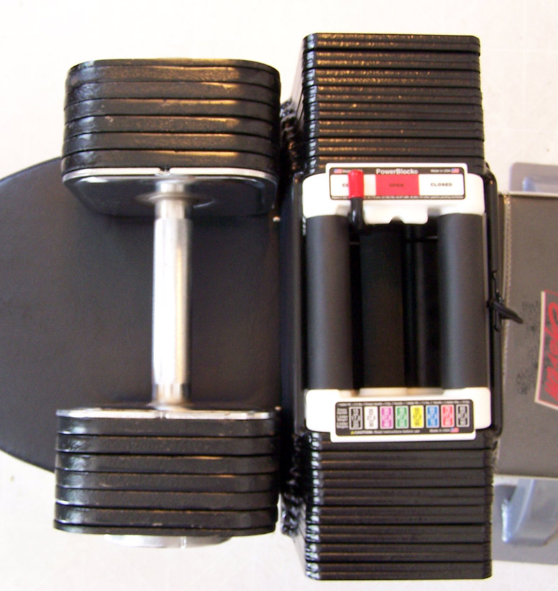 Ironmaster Adjustable Dumbbells Used: Ironmaster Vs Powerblock Question