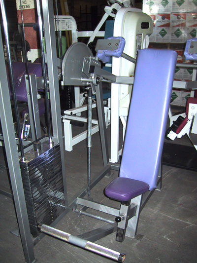 pullover machine exercise