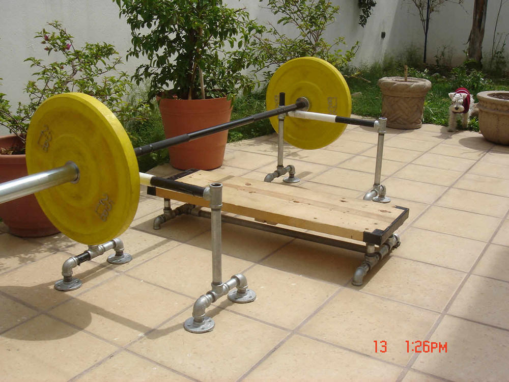 Best weight bench on a budget forums for Homemade safety squat bar