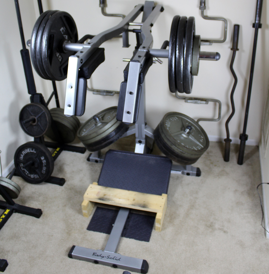 squat machine solid