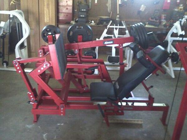 dynabody squat machine