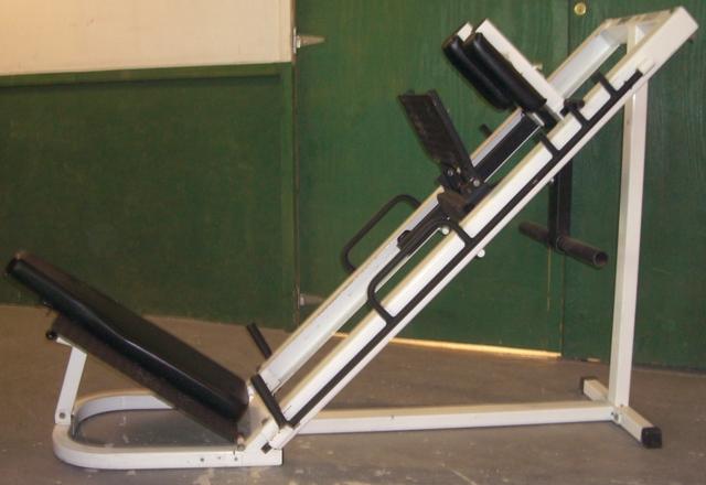 parabody leg press machine
