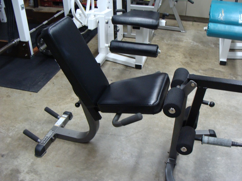 Plate Loaded Leg Curl And Extension Bench Bodybuilding