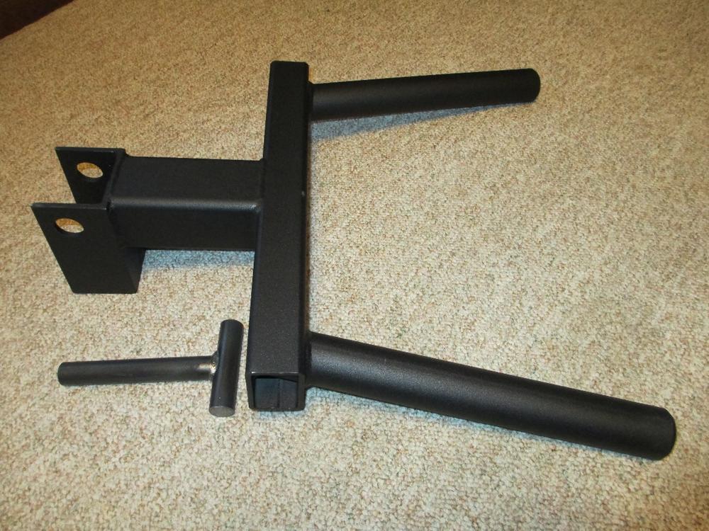 Black Widow Dip Attachment For Power Racks Bodybuilding