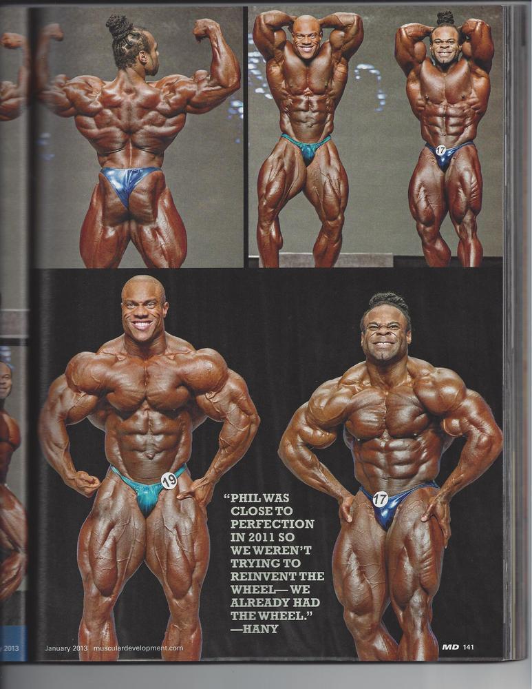 Phil Heath Anatomy Of Victory Bodybuilding Forums