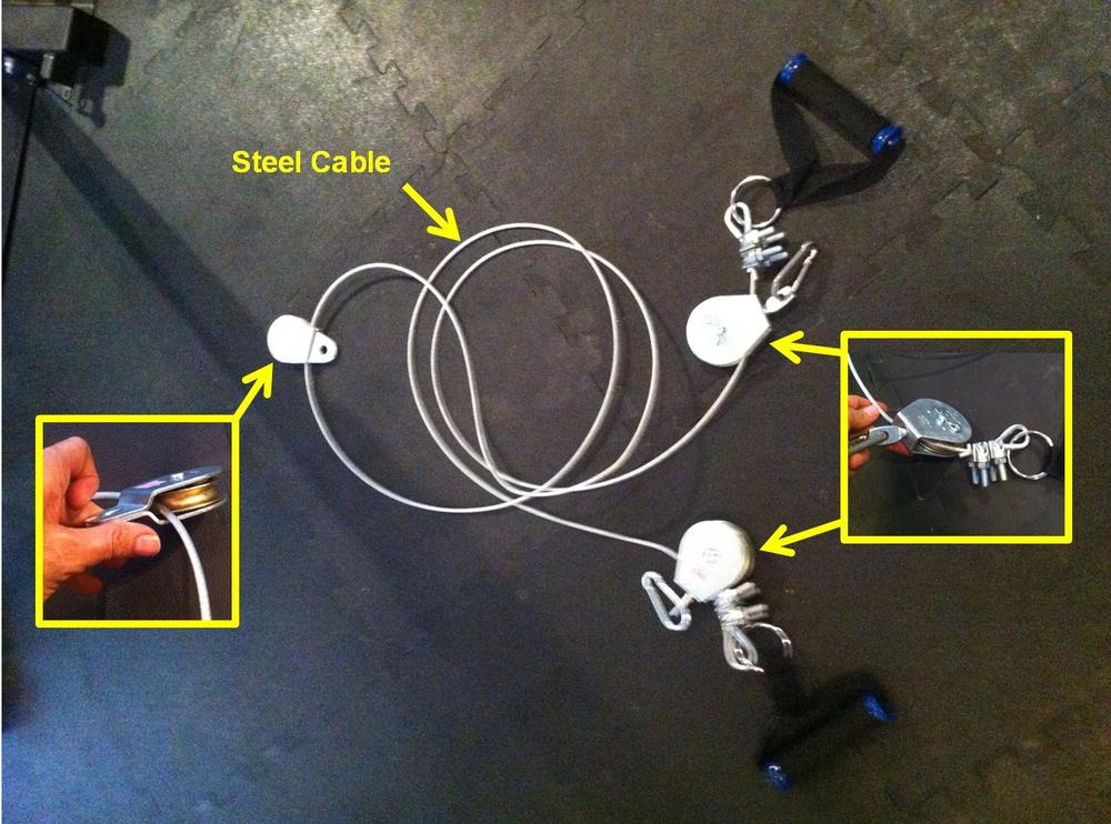 diy cable crossover machine