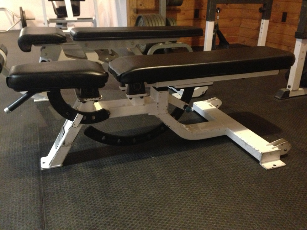 Bench Picture Comparison Hoist Cf 2165 Vs Precor Icarian