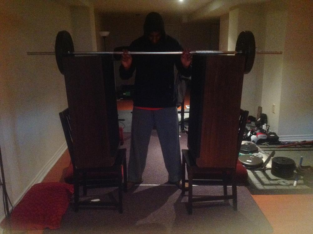 Please get a power rack forums for Homemade safety squat bar