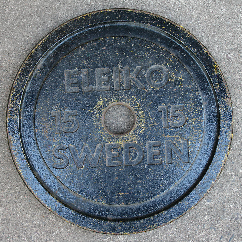Old(?) Eleiko Powerlifting Weight Plates - Bodybuilding.com Forums