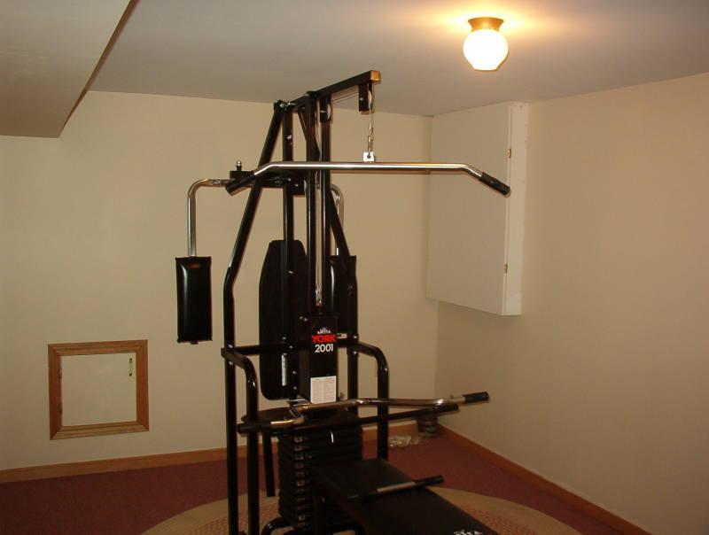 York multi gym with pec dec