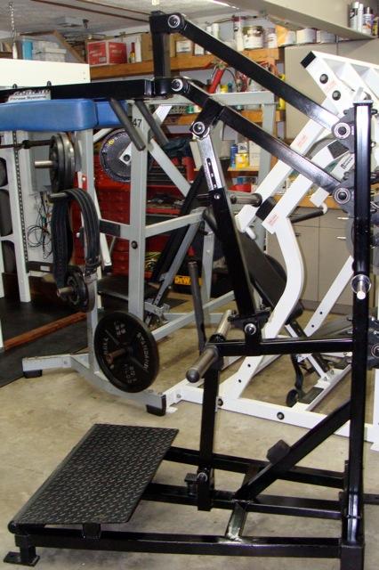 power front squat machine