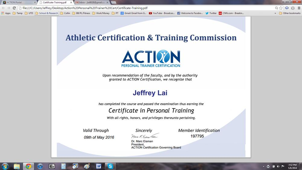 Ask a guy who just became a certified personal trainer anything ...