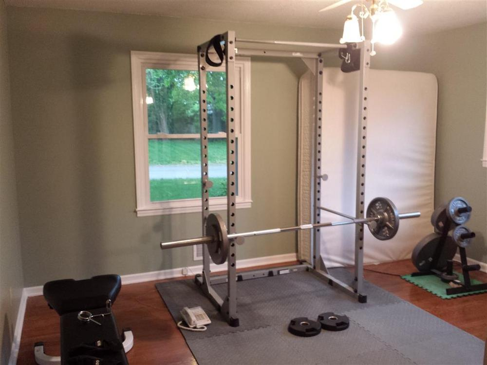 Moving my gym around the house tldr warning