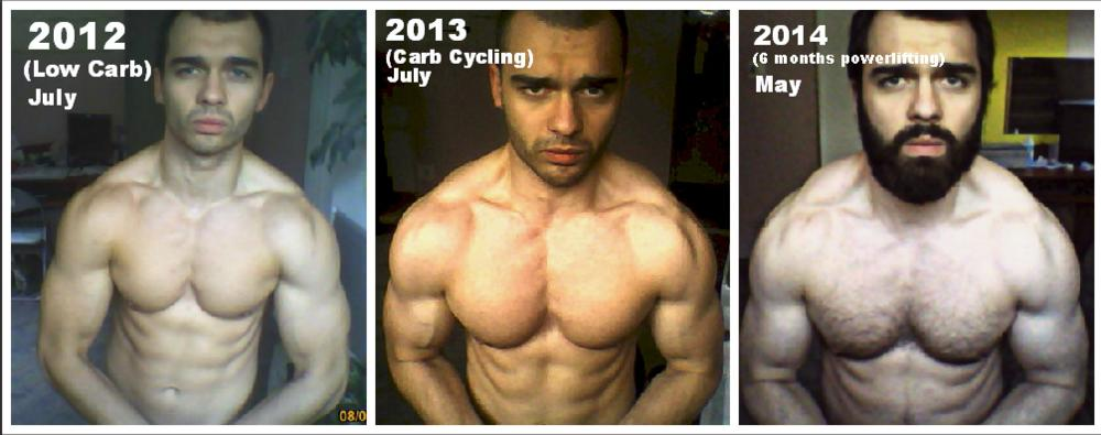 Fabulous 3 Years Transformation Low Carb Carb Cycling And Powerlifting Short Hairstyles Gunalazisus