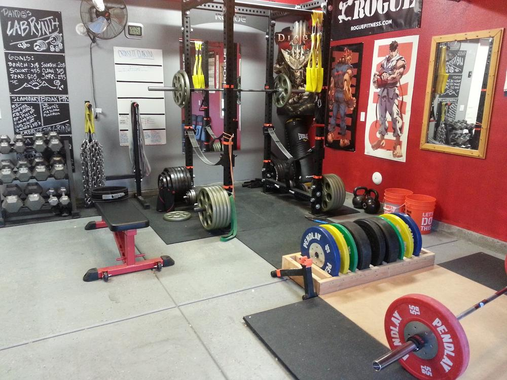 My garage gym pando s labrynth bodybuilding forums
