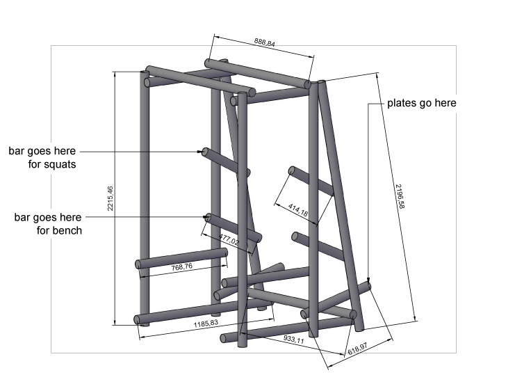 homemade metal squat rack plans homemade ftempo
