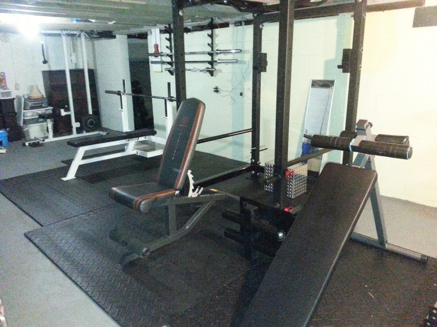 My home powerlifting type gym bodybuilding forums