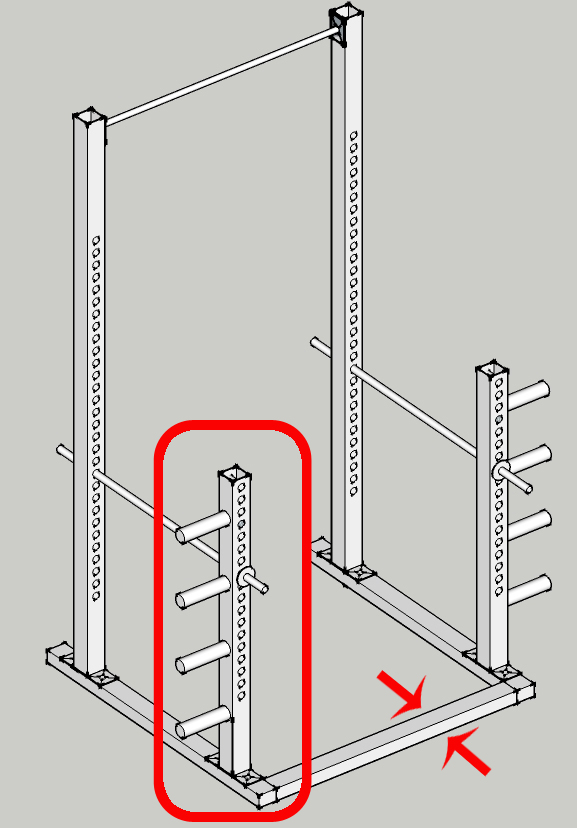 how to build a power rack