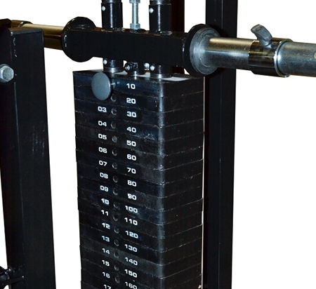 powertec lat pulldown machine