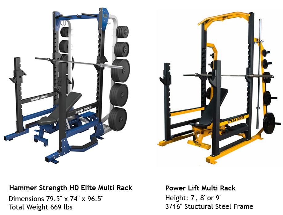 multi racks hammer strength vs power lift bodybuilding. Black Bedroom Furniture Sets. Home Design Ideas