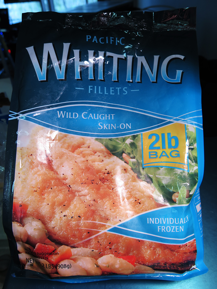 Frozen cod fillets walmart for Whiting fish at walmart