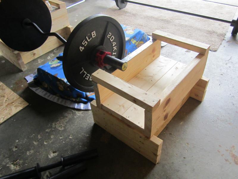 Floor Bench Press Rack