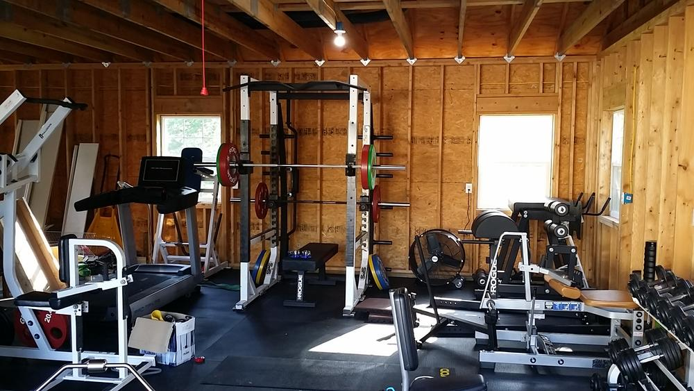 Let s see your garage gym fan bodybuilding forums