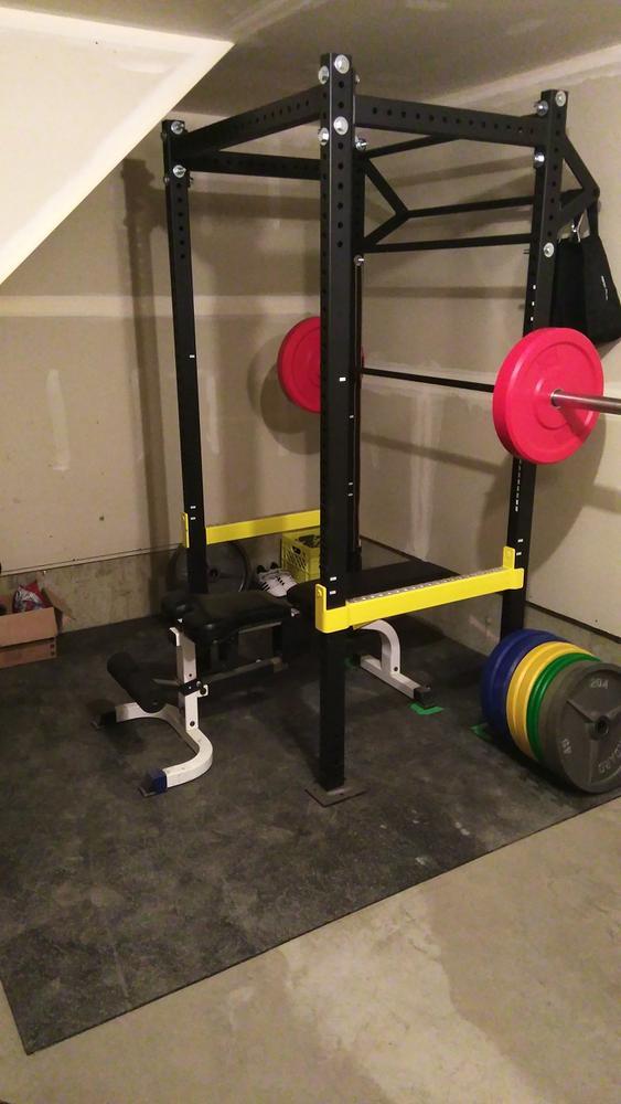 Sm1kes garage home gym thread bodybuilding.com forums